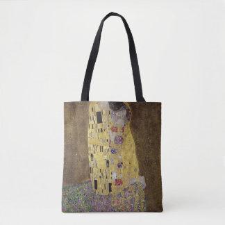 El beso de Gustavo Klimt Bolsa De Tela