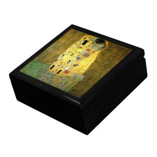El beso de Gustavo Klimt Cajas De Recuerdo