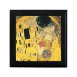 El beso de Gustavo Klimt Cajas De Joyas