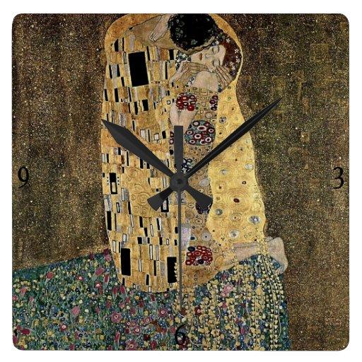 El beso de Gustavo Klimt (circa 1908) Relojes