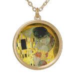 El beso de Gustavo Klimt Colgantes