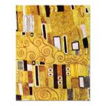 El beso de Gustavo Klimt, detalle del modelo del Comunicado Personal