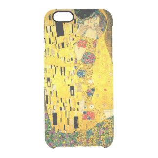 El beso de Gustavo Klimt Funda Clearly™ Deflector Para iPhone 6 De Uncommon