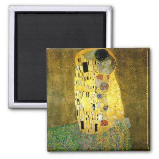 El beso de Gustavo Klimt Imán De Frigorifico