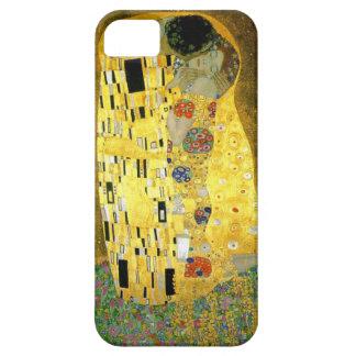 El beso de Gustavo Klimt iPhone 5 Carcasas