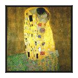 El beso de Gustavo Klimt Impresiones En Lona Estiradas