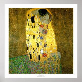 El beso de Gustavo Klimt Impresiones