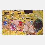 El beso de Gustavo Klimt Pegatinas