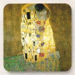 El beso de Gustavo Klimt Posavasos De Bebida