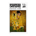El beso de Gustavo Klimt Sellos