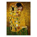 El beso de Gustavo Klimt Tarjeton