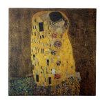 El beso de Gustavo Klimt Tejas Cerámicas