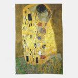 El beso de Gustavo Klimt Toalla