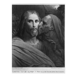 El beso de Judas 2 Tarjetas Postales