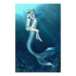 El beso de un Merman Fotografía