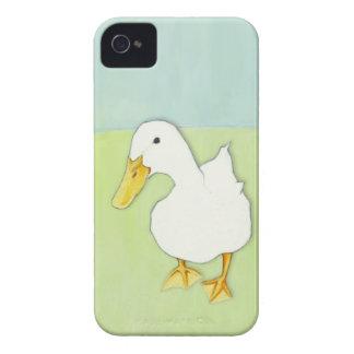 El beso del pato puntea caja intrépida de iPhone 4 Case-Mate cárcasa