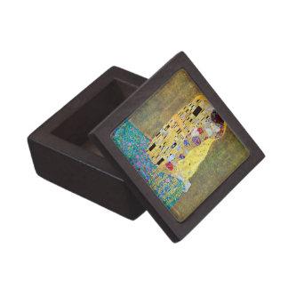El beso (Der Kuss) por Gustavo Klimt, arte Nouveau Caja De Joyas De Calidad