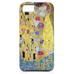 El beso (Der original Kuss) por Gustavo Klimt iPhone 5 Case-Mate Carcasa