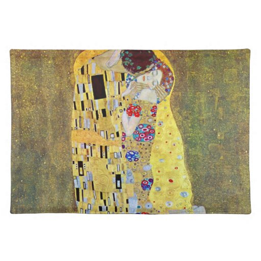 El beso (Der original Kuss) por Gustavo Klimt Mantel Individual