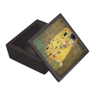 El beso - Gustavo Klimt Caja De Recuerdo De Calidad