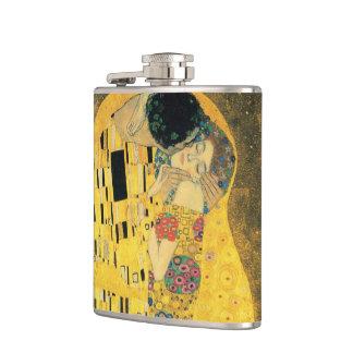 El beso - Gustavo Klimt Petaca