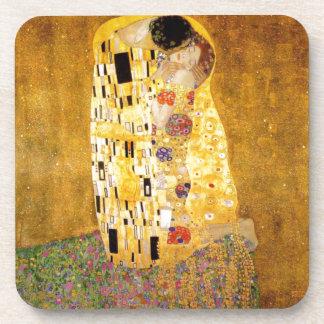 El beso Gustavo Klimt Posavasos De Bebida