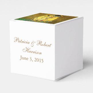 El beso Gustavo Klimt que casa la caja del favor Cajas Para Regalos