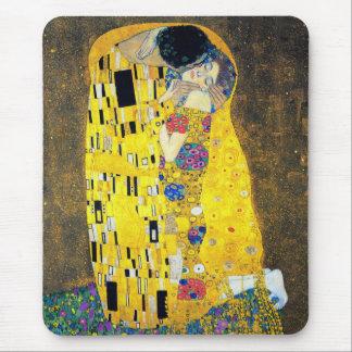 El beso, Gustavo Klimt Alfombrilla De Ratón
