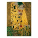 El beso - Gustavo Klimt Tarjetas
