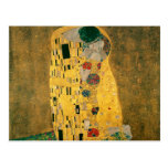 El beso - Gustavo Klimt Tarjetas Postales