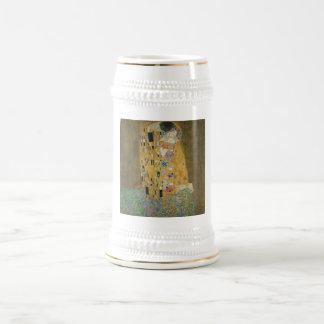 El beso - Gustavo Klimt Tazas