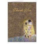 El beso Klimt le agradece tarjeta de oro del anive
