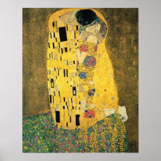 El beso poster