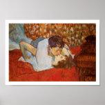 El beso - poster del arte - Enrique de Toulouse-La