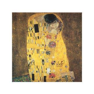 El beso, reproducción, pintura de Gustavo Klimt, Impresión En Lienzo