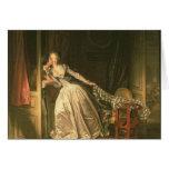 El beso robado, c.1788 felicitaciones