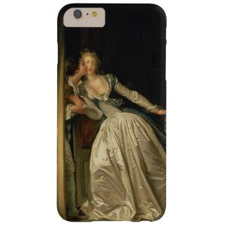 El beso robado de Jean-Honore Fragonard Funda De iPhone 6 Plus Barely There