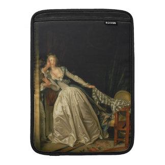 El beso robado de Jean-Honore Fragonard Fundas MacBook