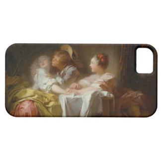 El beso robado - Jean Honoré Fragonard iPhone 5 Case-Mate Funda