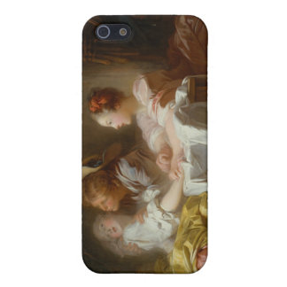 El beso robado - Jean Honoré Fragonard iPhone 5 Carcasas