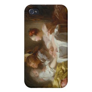 El beso robado - Jean Honoré Fragonard iPhone 4 Protector
