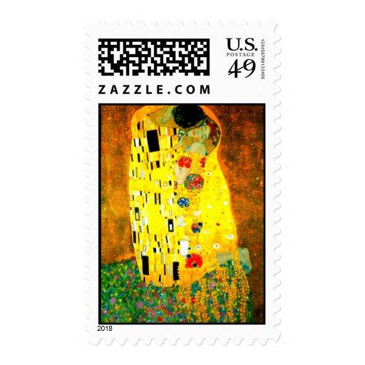 El beso - sello de Klimt