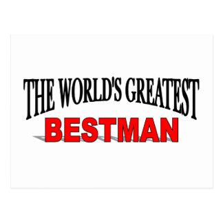 El Bestman más grande del mundo Tarjetas Postales
