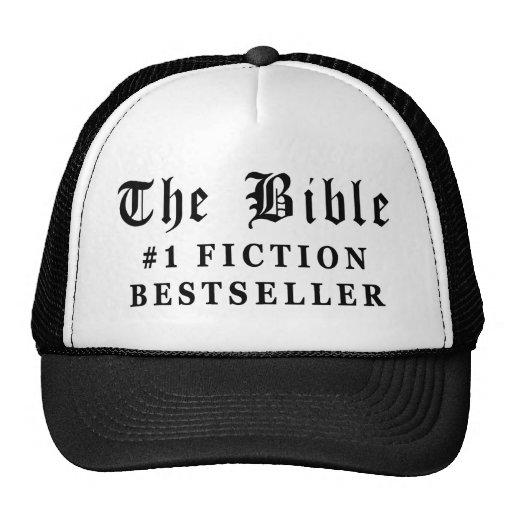 El bestseller de la ficción de la biblia gorros bordados