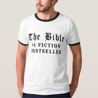 El bestseller de la ficción de la biblia remeras