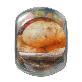 El bhatura sabroso jarrones cristal