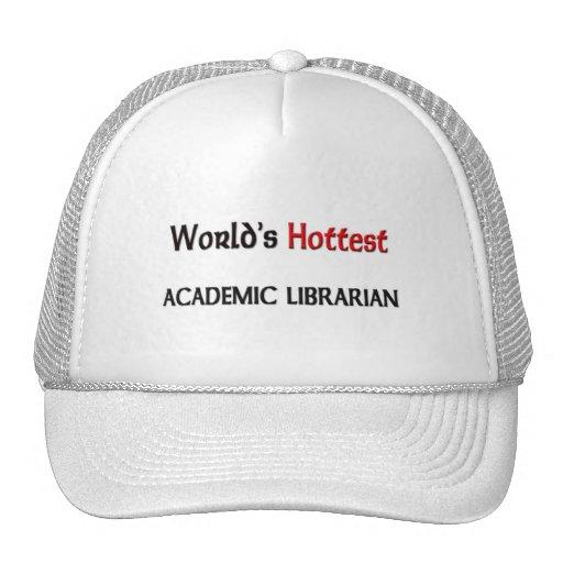 El bibliotecario académico más caliente de los mun gorra