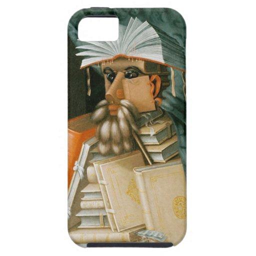 El bibliotecario de Giuseppe Arcimboldo iPhone 5 Case-Mate Cárcasa