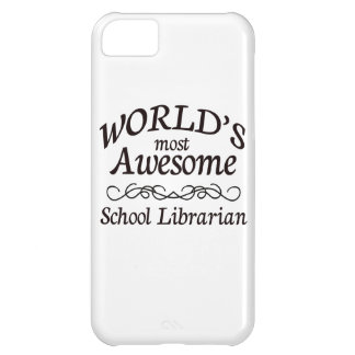 El bibliotecario de la escuela más impresionante d funda para iPhone 5C