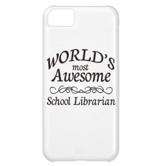 El bibliotecario de la escuela más impresionante funda para iPhone 5C